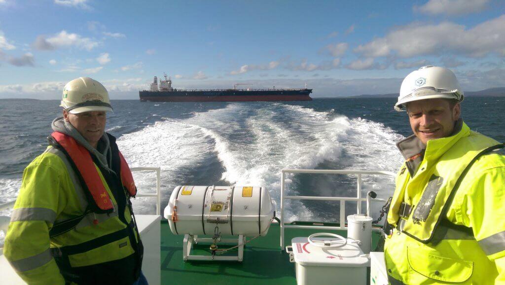 Ballast Water Sampling Team - Orcades Marine