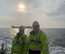 Ballast Water Sampling: 100th  Event