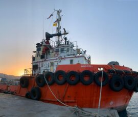 Successful delivery of the ASD tug MOSCO II